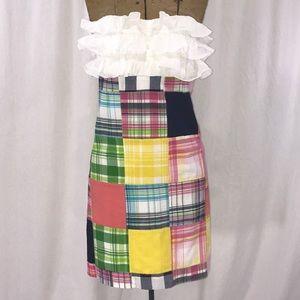 Lilly Pulitzer Cameron Bingo Blanket patch dress